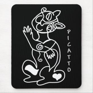 PICATTO amará su ratón Alfombrillas De Ratón