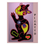 PICATTO in colour Poster