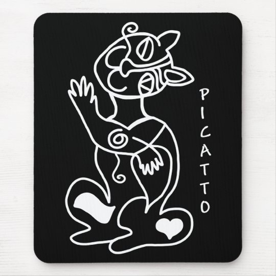 PICATTO will love your mouse Mouse Pad