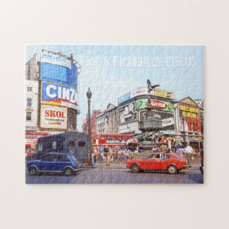Piccadilly Circus, Colorful London West End Jigsaw Puzzle