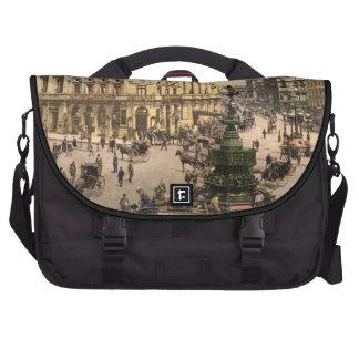 Piccadilly Circus, London, England Laptop Messenger Bag