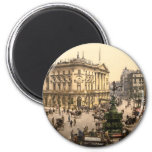 Piccadilly Circus, London, England Refrigerator Magnets