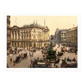 Piccadilly Circus, London, England Postcard