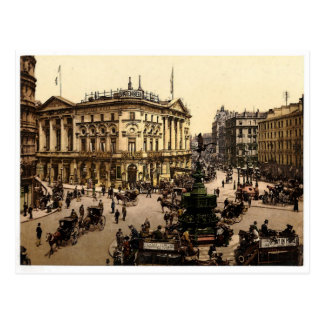Piccadilly Circus, London Postcard