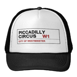 Piccadilly Circus London Trucker Hat