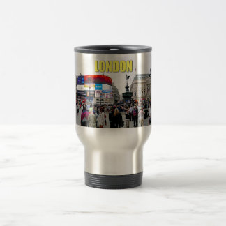 Piccadilly Circus - Pro photo 15 Oz Stainless Steel Travel Mug