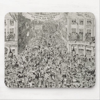Piccadilly during the Great Exhibition, 1851 Mouse Pad