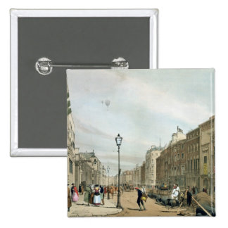 Piccadilly from the corner of Old Bond Street, fro Pinback Button