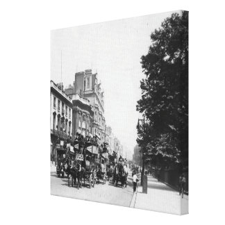Piccadilly, London 2 Canvas Print