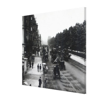 Piccadilly, London Canvas Print
