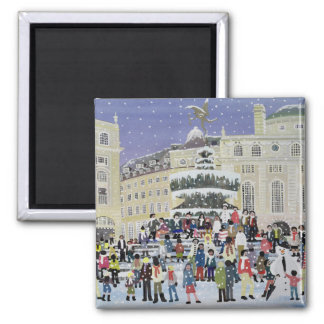 Piccadilly Snow Scene Magnet