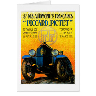 Piccard-Pictet Pic-Pic ~ Vintage Auto Ad Card