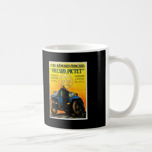 Piccard-Pictet Pic-Pic ~ Vintage Auto Ad Mug