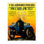 Piccard-Pictet Pic-Pic ~ Vintage Auto Ad Postcard