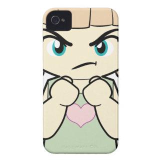 Piccola_Simo enojado Case-Mate iPhone 4 Protector
