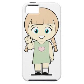 Piccola_Simo hola iPhone 5 Carcasa