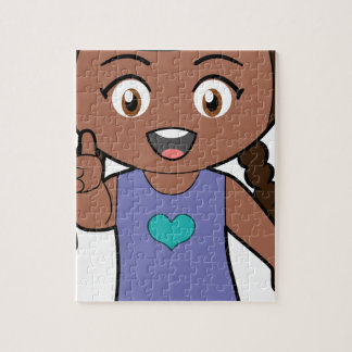 Piccola Simo  Victory (afro) Jigsaw Puzzle