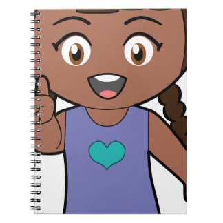 Piccola Simo  Victory (afro) Notebook