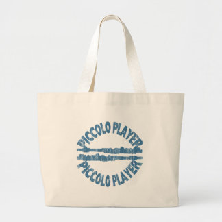 Piccolo Player Large Tote Bag
