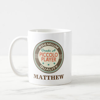 Piccolo player Personalized Office Mug Gift