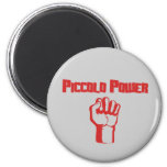 Piccolo Power 2 Inch Round Magnet