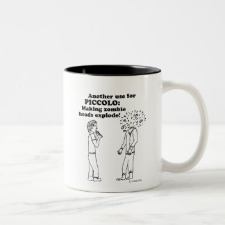 Piccolo Zombie Explode Two-Tone Coffee Mug