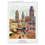 Picerie Rouen, By Pissarro Camille Greeting Card