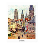 Picerie Rouen, By Pissarro Camille Post Cards