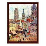 Picerie Rouen, By Pissarro Camille Postcards