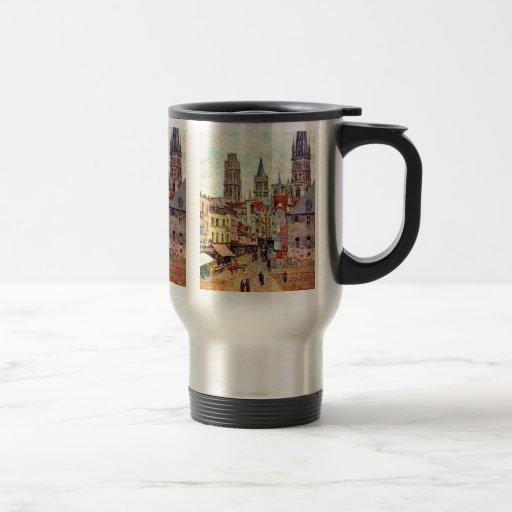Picerie Ruán, por Pissarro Camilo Tazas De Café