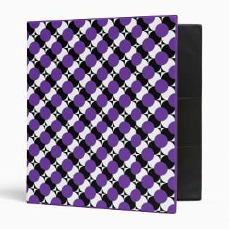 """PICK-A-COLOR Funky Dots 1"""" Binder - TBA"""