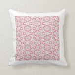 Pick A Colour, Wide Bordered Lace Pattern Pillow