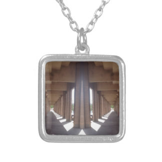 Pick a Path Silver Plated Necklace
