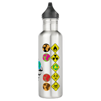 pick a planet stainless steel water bottle