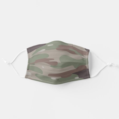 Pick Any 5 Color Pattern Camo Cloth Face Mask