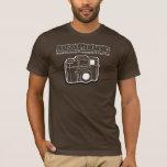 Pick Any Color, White Outline, Holga, 1-Sided T-Shirt
