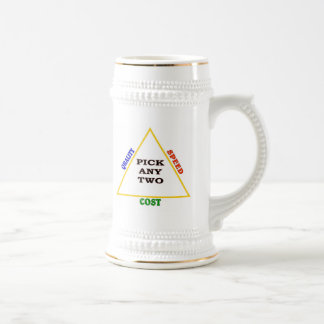 PICK ANY TWO BEER STEIN