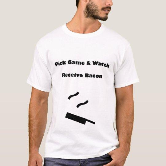 Pick Game & Watch, Receive Bacon T-Shirt