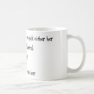 Pick Girlfriend or Animal Control Coffee Mug