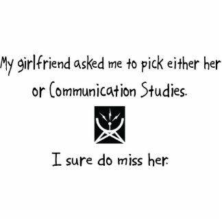 Pick Girlfriend or Communication Studies Acrylic Cut Outs