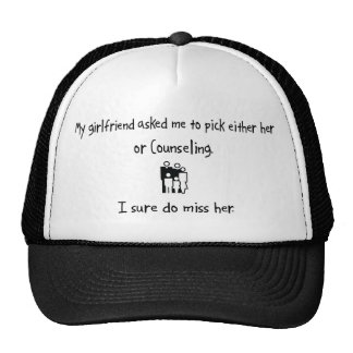 Pick Girlfriend or Counseling Hat