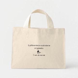 Pick Girlfriend or Gymnastics Canvas Bag