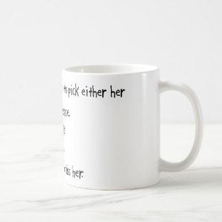 Pick Girlfriend or Lacrosse Coffee Mug