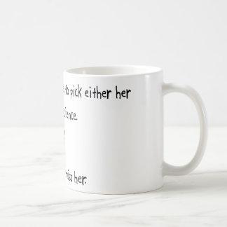 Pick Girlfriend or Mad Science Coffee Mug