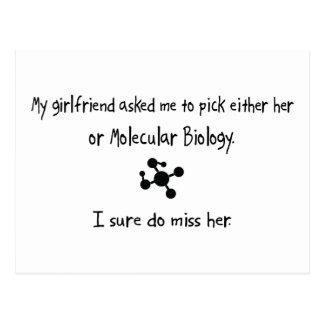 Pick Girlfriend or Molecular Biology Postcard