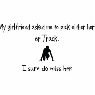 Pick Girlfriend or Track Cut Out