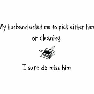 Pick Husband or Cleaning Photo Cutout