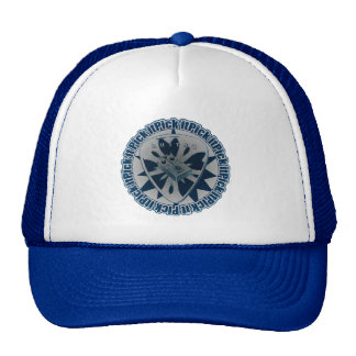 Pick It - Guitar Pick with Pedal- Blue and White Trucker Hat