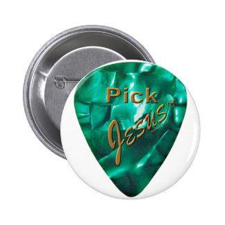 Pick Jesus 2 Inch Round Button