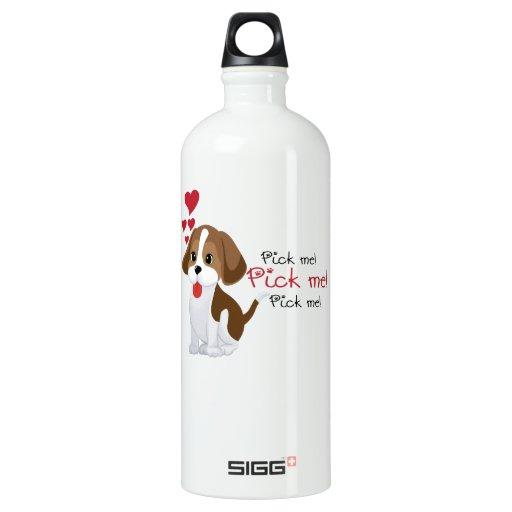 Pick me - cute puppy SIGG traveler 1.0L water bottle